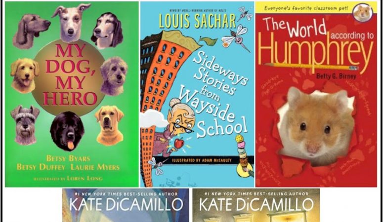Top 5 Favorite Chapter Book Read Alouds for First & Second Grade
