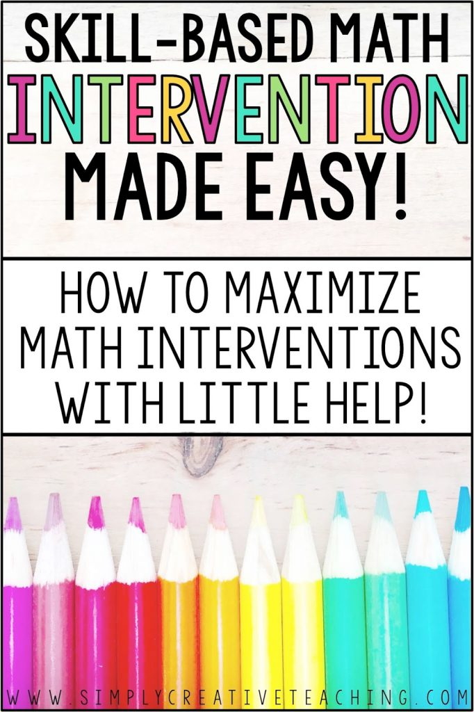 Skill-based math interventions don't have to be stressful! This resource is full of strategies that will make lesson plans for Rti teachers so much easier! Students will use these teaching ideas with another adult to practice core standards and math skills, including addition and subtraction, place value, and more. Great ideas for kindergarten, 1st, 2nd, 3rd, 4th, and 5th grade classrooms!