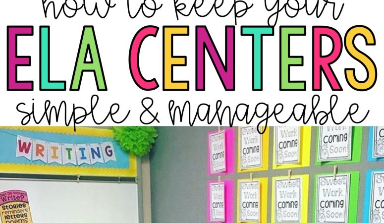 Setting Up Your Reading Centers