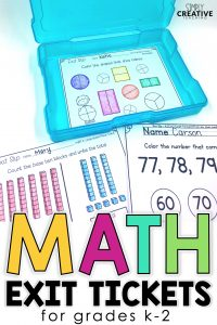 math exit tickets blog post image