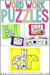 word work puzzles