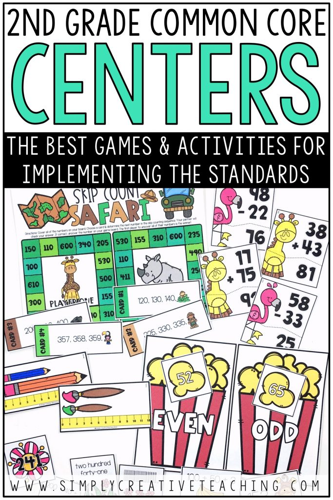 The best games & activities for implementing the Common Core standards.