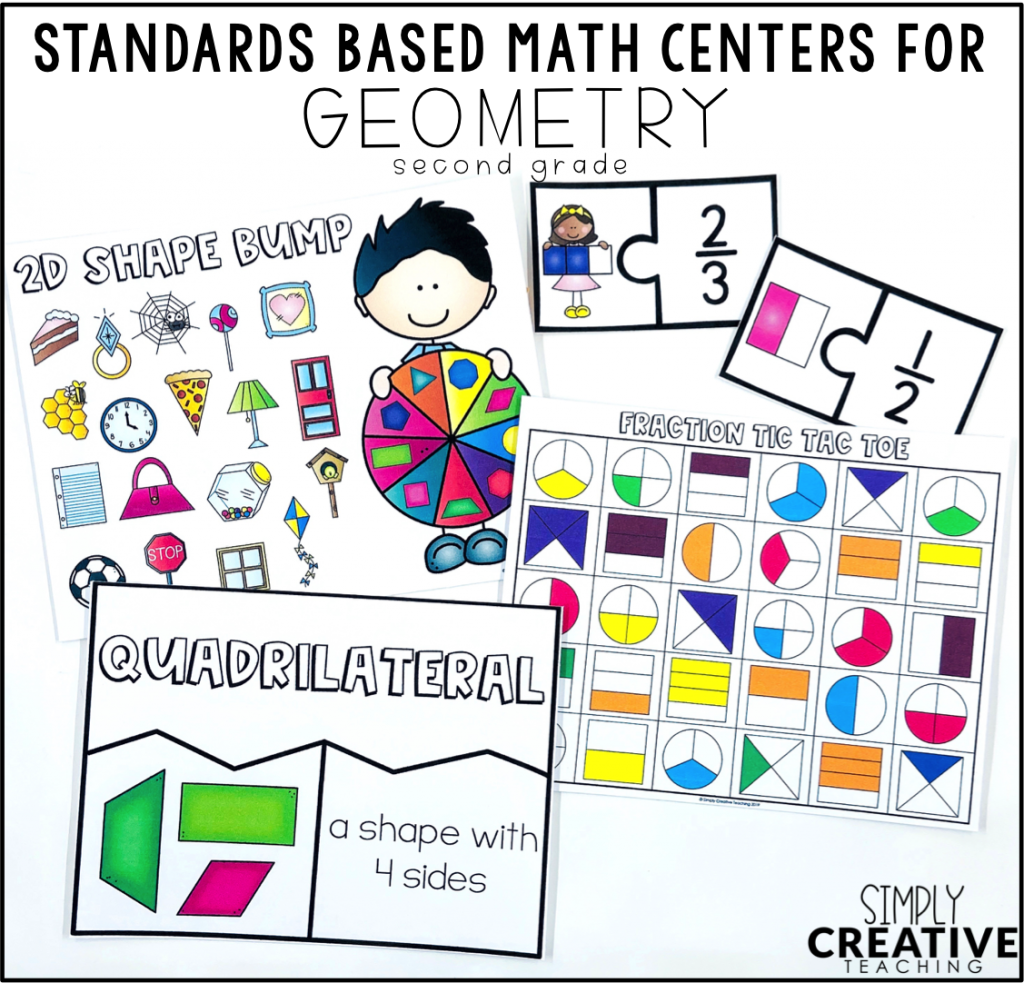 These are examples of geometry games and activities.