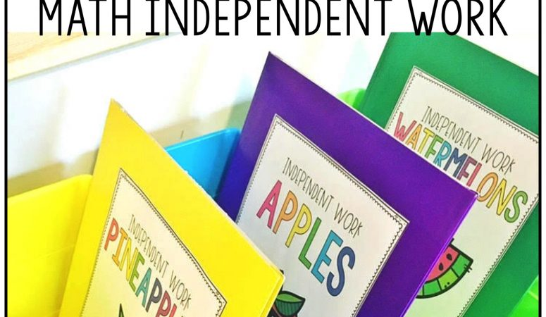 Independent Math Activities for Guided Math
