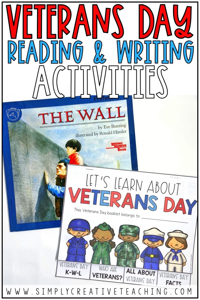 This is a graphic to show the Veterans Day booklets.