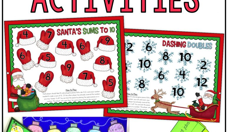 Christmas Math & Reading Activities
