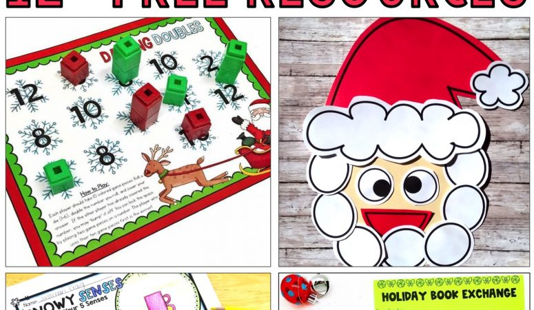 Free December Classroom Activities