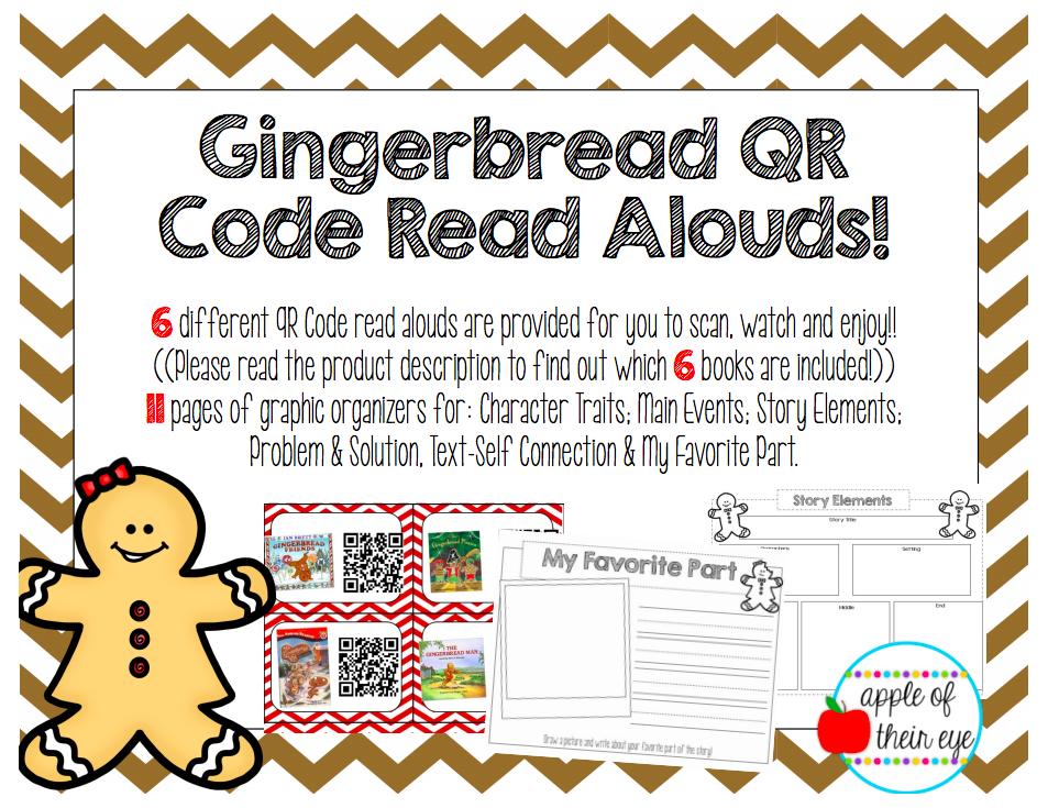 Gingerbread QR Code Read Alouds