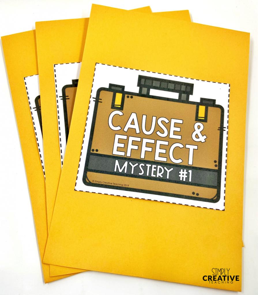 mystery envelopes