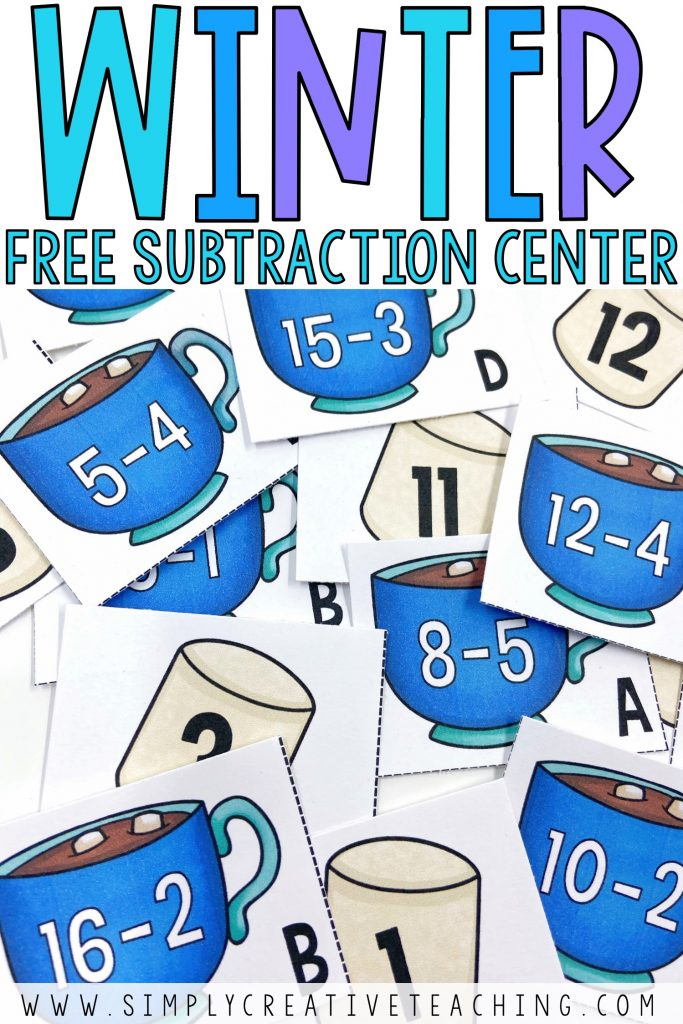 Free Winter Math Activities