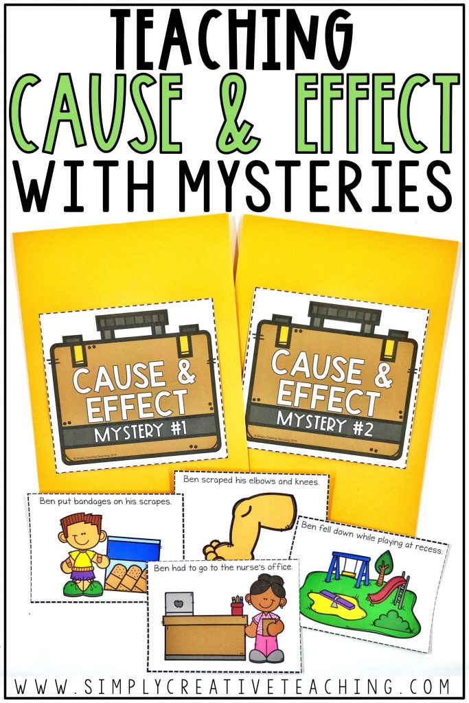 Teaching cause & effect with mysteries