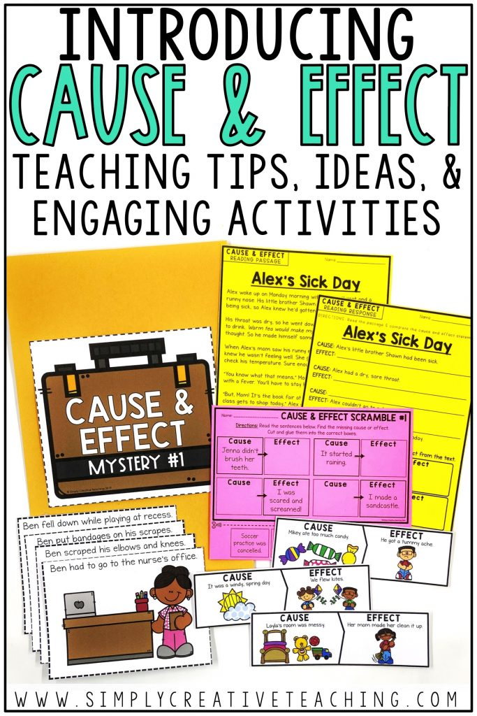Introducing cause and effect with these teaching tips, ideas, and engaging activities.