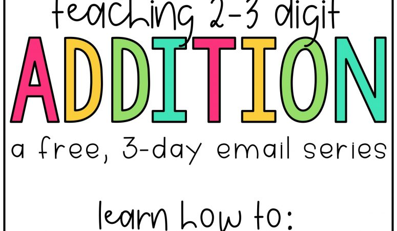 Teaching Addition Strategies: A Free Guide