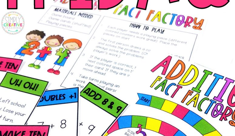 Fact Fluency Friday Activities