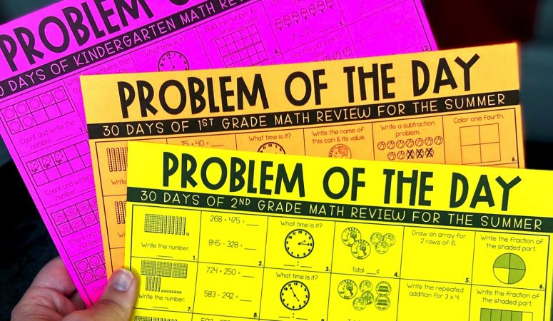 Free Summer Math Review