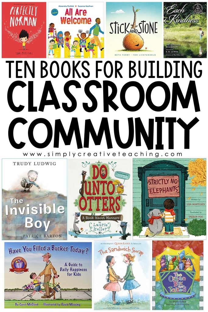 Ten books for building classroom community