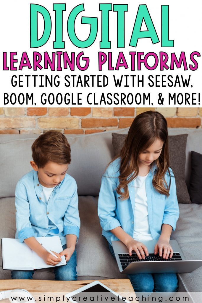 Getting started with digital learning with seesaw, boom, Google Classroom, Google Slides, & more!