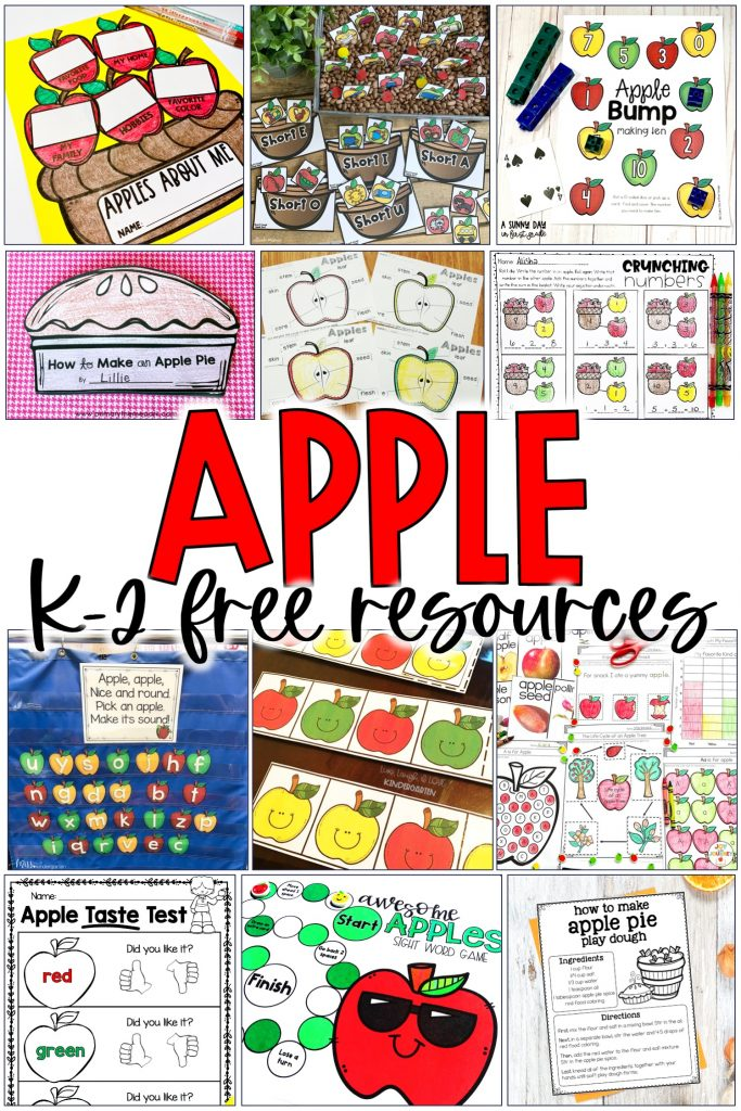 apple k-2 free resources