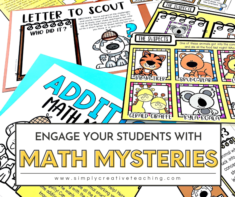 Engage your students with math mysteries