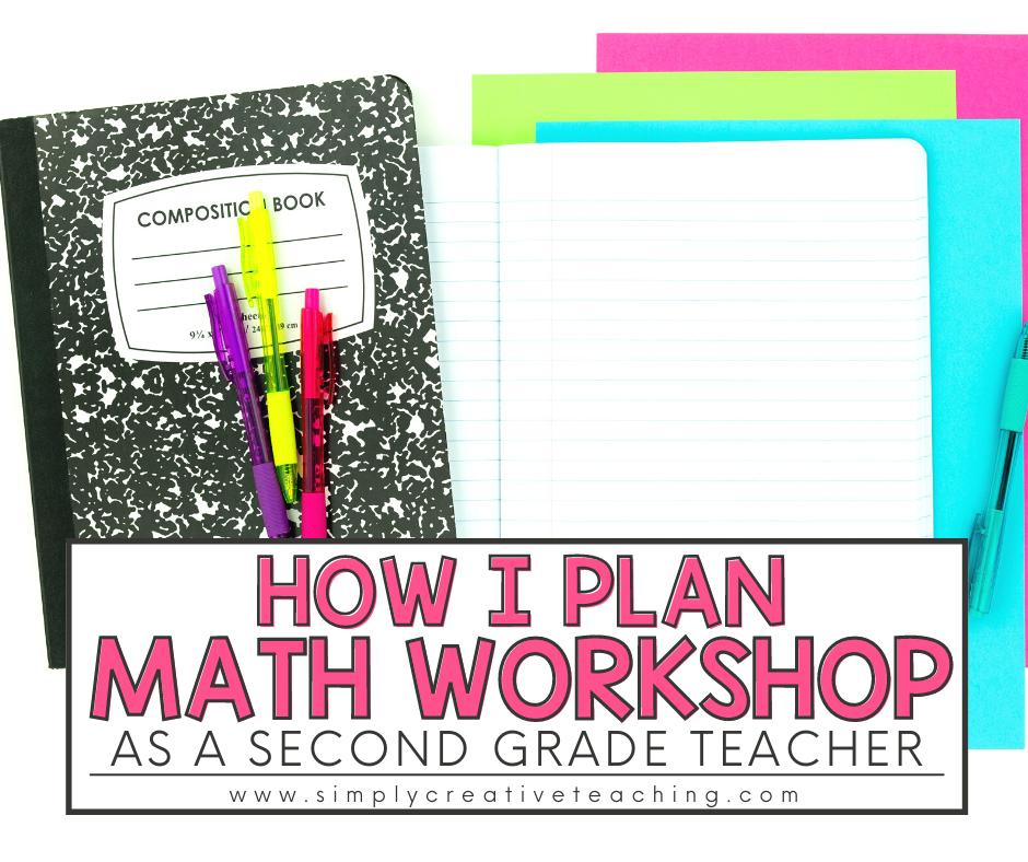How I Plan Guided Math Workshop as a Second Grade Teacher