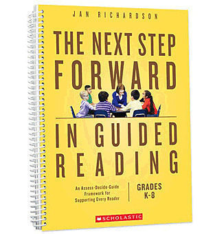 """Image links to the book """"The Next Step Forward in Guided Reading"""" by Jan Richardson."""